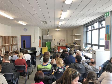 アイルランド 大学 留学 学校 教室