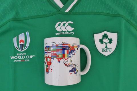 アイルランド ラグビー ワールドカップ 日本
