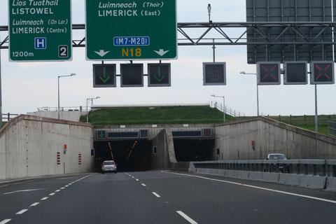 アイルランド トンネル