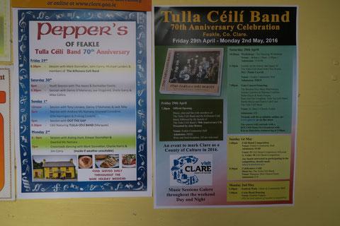 タラ・ケーリーバンド70周年記念フェスティバル