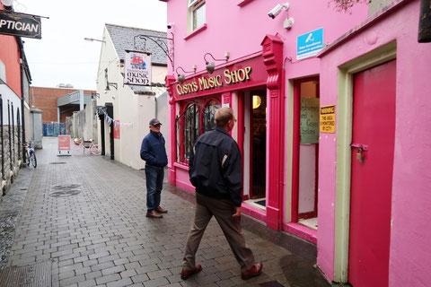 アイルランド 楽器店