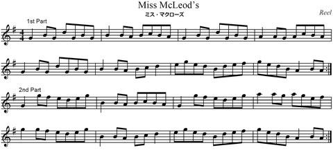 ケルト音楽 ヴァイオリン 楽譜