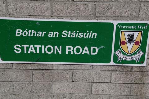 アイルランド 道路標識