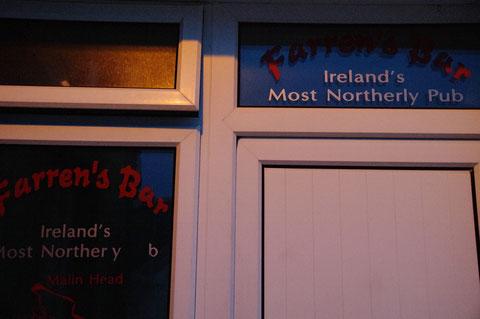 アイルランド最北端のアイリッシュパブ