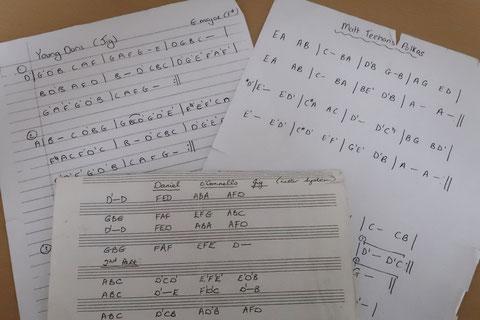 ケルト音楽 楽譜
