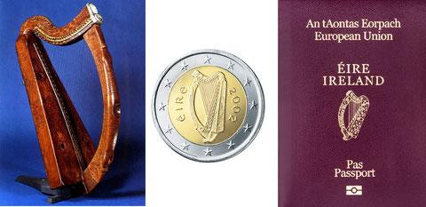 アイルランド アイリッシュハープ