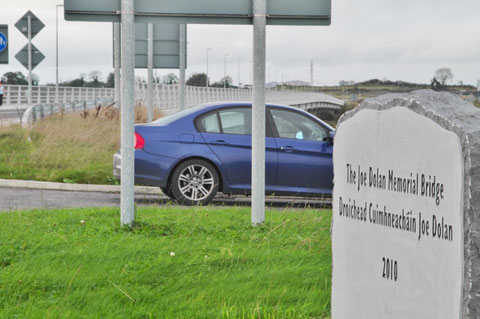 Ireland Mullingar Joe Dolan Memorial Bridge