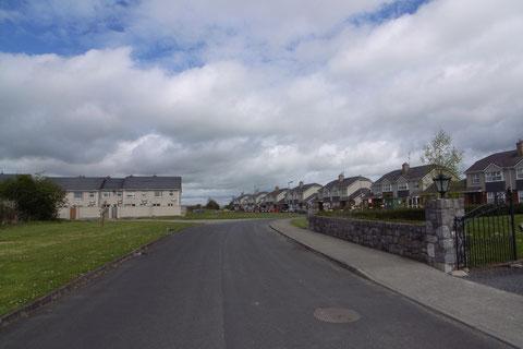 アイルランド 住宅街