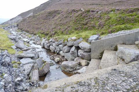 アイルランドの水力発電所