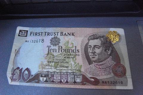 アイルランド 紙幣