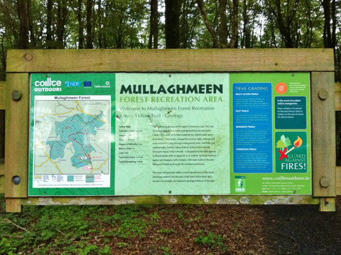 アイルランド ウエストミーズ州 Mullaghmeen Forest Recreation Area