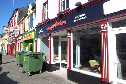 アイルランド ファーストフード店