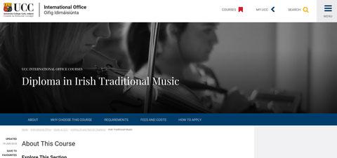 アイリッシュ音楽 留学
