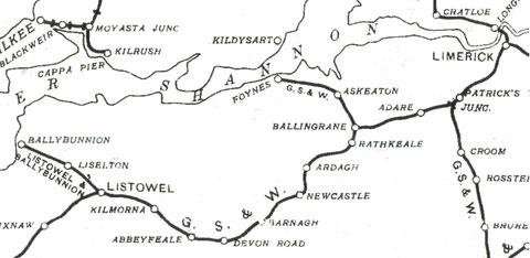 アイルランド 鉄道路線