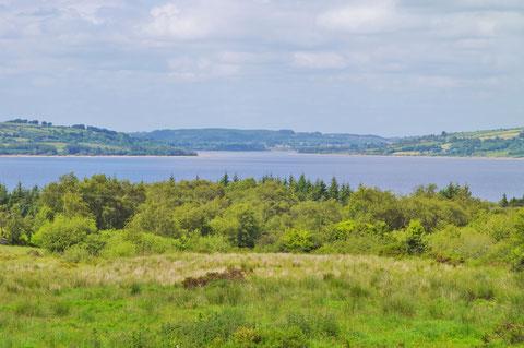 アイルランド 田舎 湖