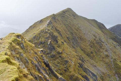アイルランドで山登り