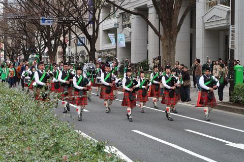 セイントパトリックスデーパレード