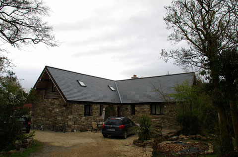 ステイ先のリートリム・ダウラ村のお家