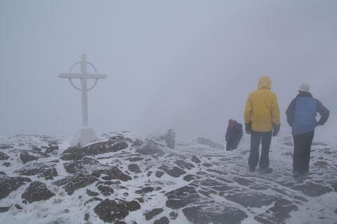 アイルランド・冬山