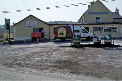 アイルランド ガソリンスタンド