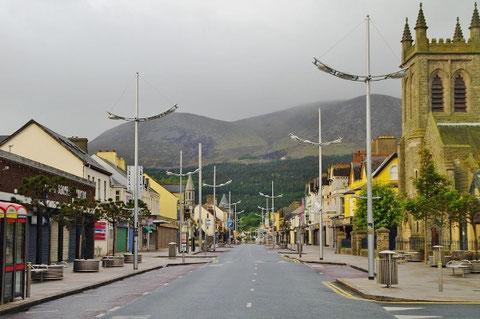 北アイルランド 最高峰 スリーヴ・ドナード ニューカッスル ダウン州