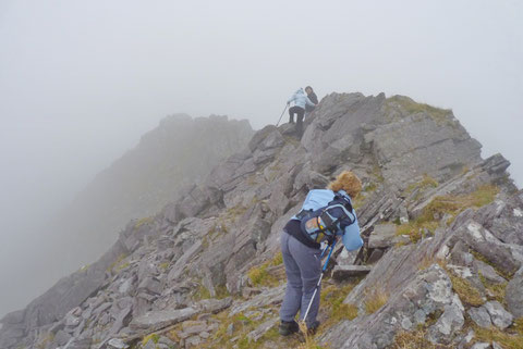 アイルランド 登山 最高峰
