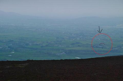 アイルランド パラグライダー