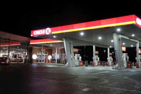 アイルランド コンビニ ガソリンスタンド