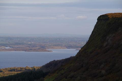 アイルランド 断崖 Magho Cliff