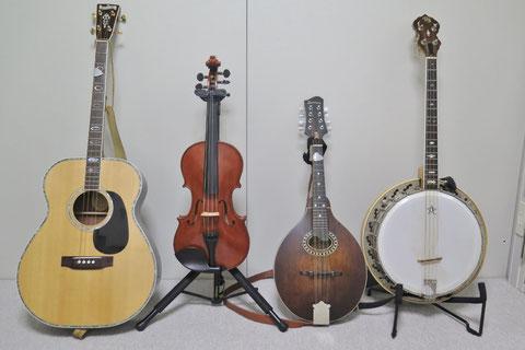 アイリッシュ音楽 楽器