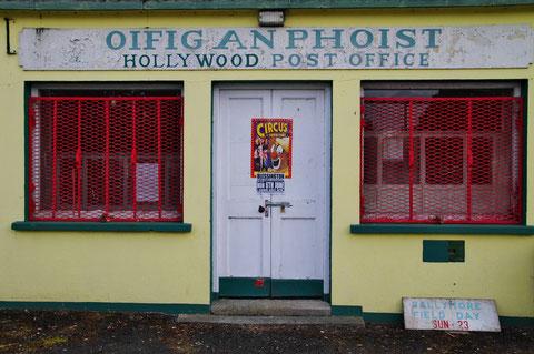 アイルランド ハリウッド 郵便局