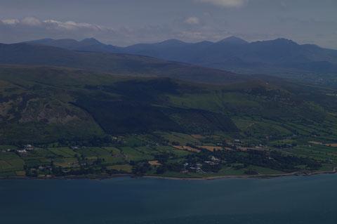 アイルランド モーン山地