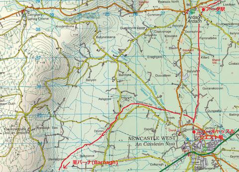 アイルランド 鉄道 路線図