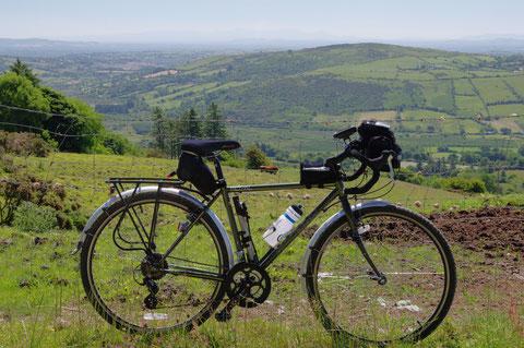 アイルランド・サイクリング・自転車・田舎
