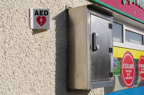 アイルランド AED