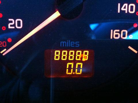 88888マイル