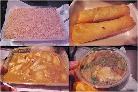 アイルランド 食事 中華料理 中国料理 テイクアウト