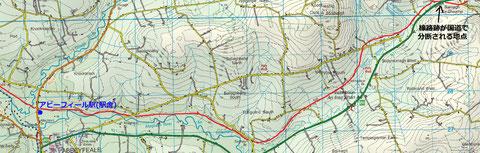 アイルランド 鉄道路線図
