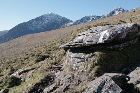 ディングル 登山