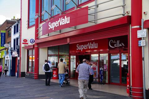 アイルランド スーパーマーケット