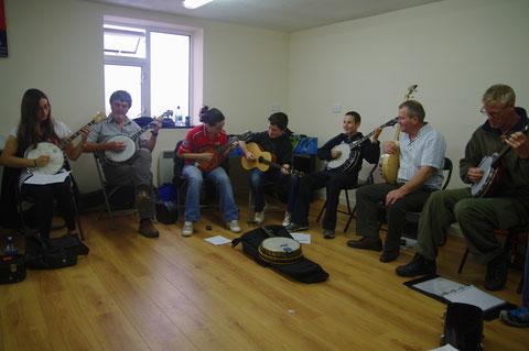 アイリッシュ音楽 バンジョー 教室