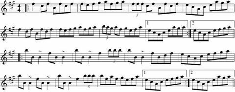 上の動画で弾いている曲の楽譜です。(クリックで拡大できます)