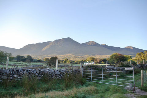 アイルランドの山