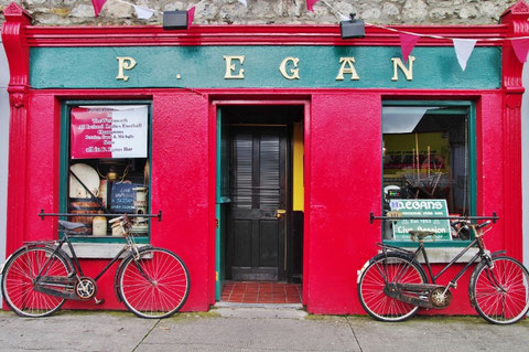 アイルランド アイリッシュパブ 自転車