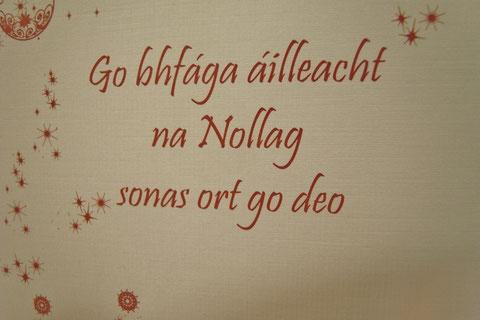 ゲール語 アイルランド語