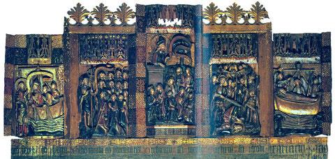 Berufung des Jakobus - Aussendung des Jakobus - Predigt in Spanien - Tod in Jerusalem - Überführung des Leichnams nach Galizien