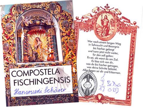 Compostela Fischingensis, Vorder- und Rückseite