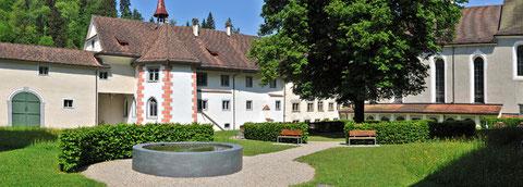 Kloster Fischingen Innenhof
