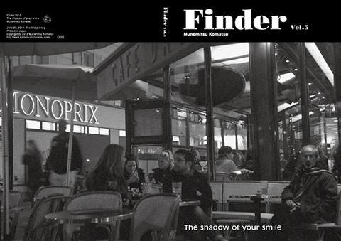 "Cover and Back cover  ""Finder Vol.5""  2012"