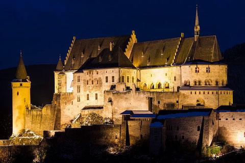 Burg Vianden, Luxembourg, 29.12.2014
